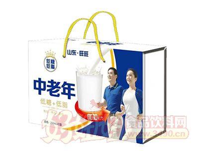 中老年低脂低糖饮品250mlx12盒