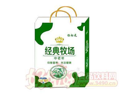怡初元中老年经典牧场乳味饮品礼盒