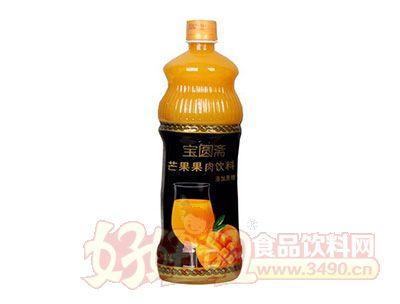 宝圆斋芒果果肉饮料1L