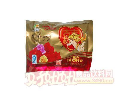 中意玫瑰喜糖袋装