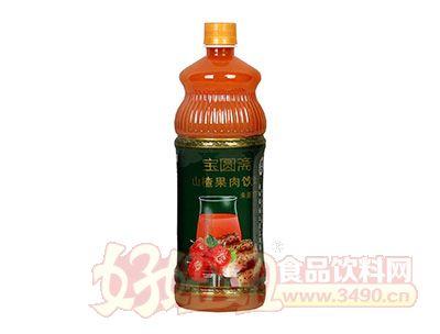 宝圆斋山药山楂果肉饮料1L