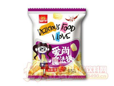 谷部一族爱尚魔法块膨化食品香辣味