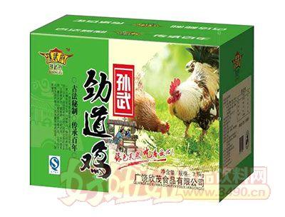 孙武府劲道鸡3.6千克