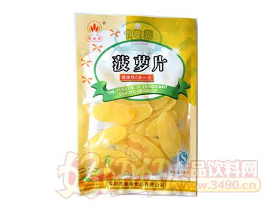 蔡春牌菠萝片袋装148g