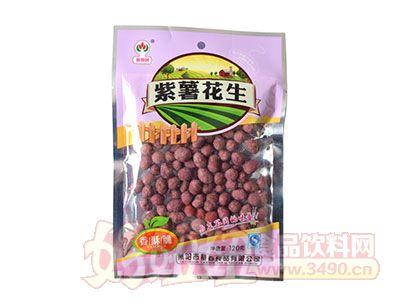 蔡春牌紫薯花生120g