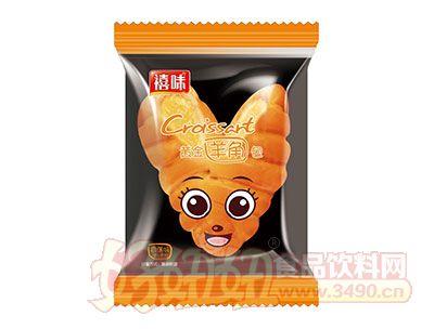 福建龙海禧味香蕉味注芯黄金羊角包面包