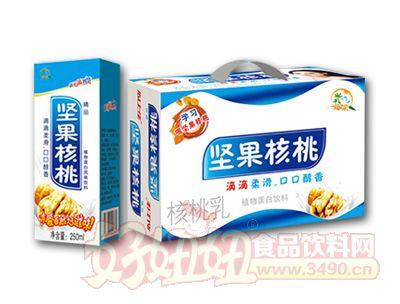 茗赫食品坚果核桃乳