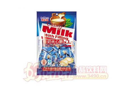 雪丽糍牛奶夹心糖