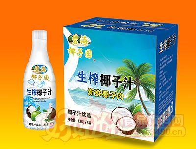 碧海椰子园椰子汁1.25lx6瓶