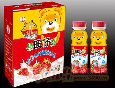 旺仔营养果汁酸奶200mlx16瓶