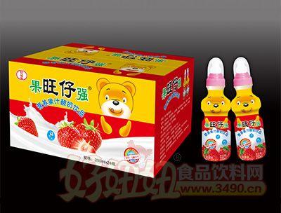 旺仔营养果汁酸奶饮品200mlx24瓶箱装