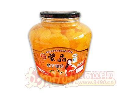 蒙晶桔子罐头