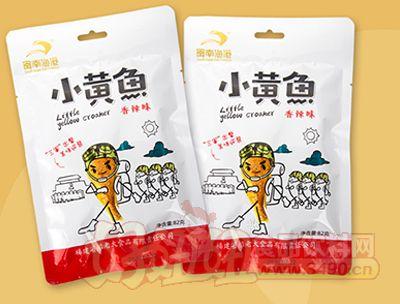 闽南渔港小黄鱼香辣味82g