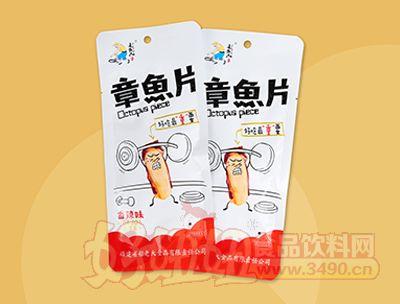 追鱼人章鱼片香辣味30g(袋中袋)
