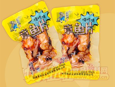 追鱼人章鱼片烧烤味(散装称重)
