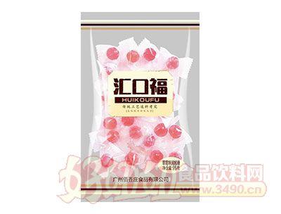 汇口福草莓味润喉糖95g