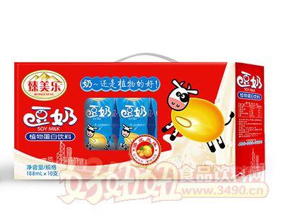 臻美乐188mlx10支豆奶礼盒