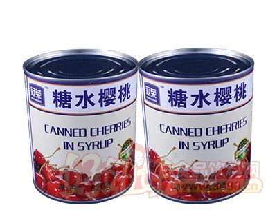 冠荣红樱桃罐头