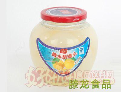 滕龙食品糖水梨罐头