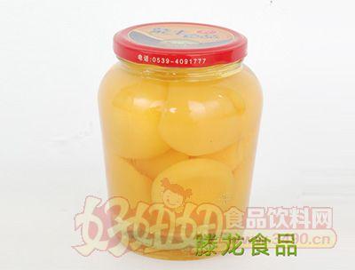 腾龙食品糖水黄桃罐头