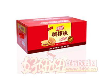 回头客铜锣烧礼盒装夹心蛋糕(红豆味)2500g