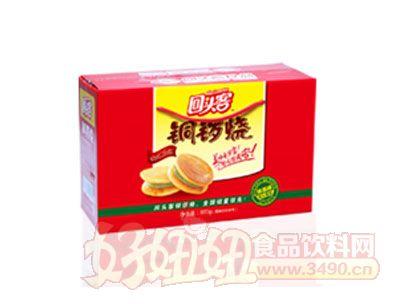 回头客铜锣烧礼盒装夹心蛋糕(抹茶味)800g