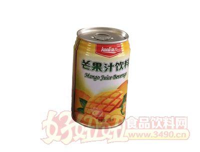 强力生榨芒果汁饮料278ml