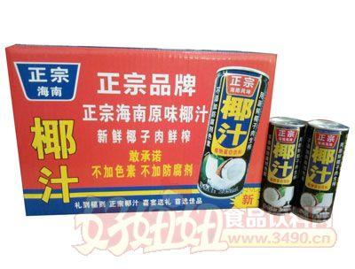 大美华椰--生榨椰子汁箱装245mlx24