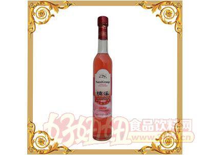 楠溪经典草莓果醋清爽型375毫升