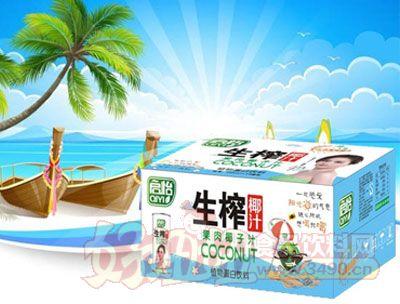 启怡245mlX24罐椰子汁纸箱