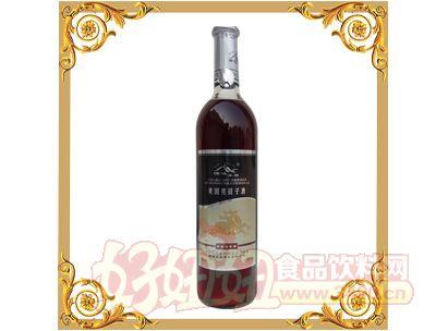 楠溪美国黑提子酒740ml