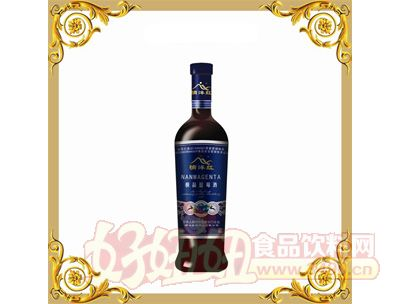 楠溪楠洋红极品蓝莓酒
