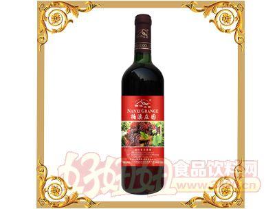 楠溪甜红葡萄露酒740ml