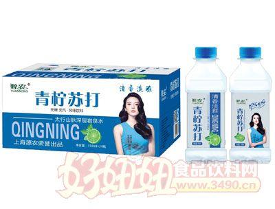 源农青柠苏打水350mlx24瓶