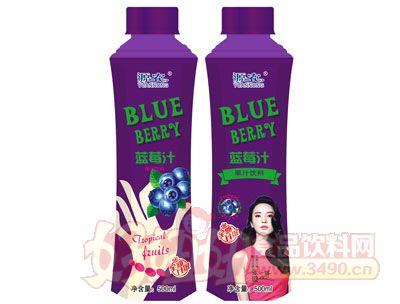 源农草莓汁500ml