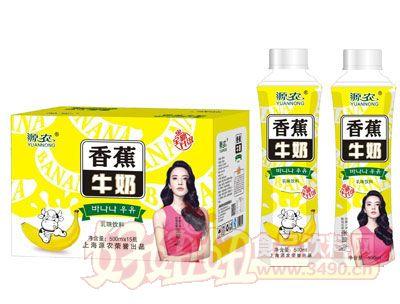 源农香蕉牛奶500mlx15瓶