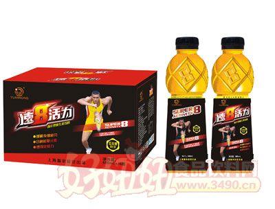 佰润速8瓜拉纳强化型维生素饮料600mlx15瓶