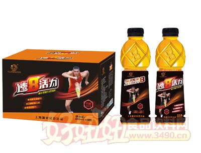 源农速8玛咖强化型维生素饮料600mlx15瓶