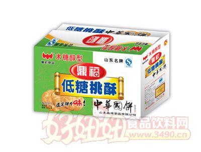 鼎福低糖桃酥-800g