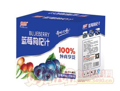 谷源蓝莓枸杞汁礼盒装