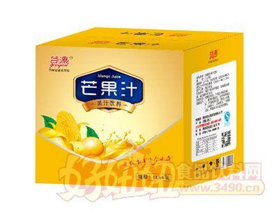 谷源芒果汁1L×6瓶