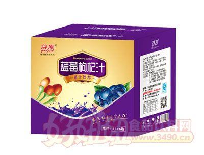谷源蓝莓枸杞汁1L×6瓶