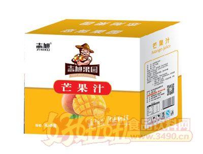 志旭果园芒果汁1L×8盒