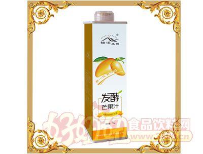 楠溪庄园发酵芒果汁1L