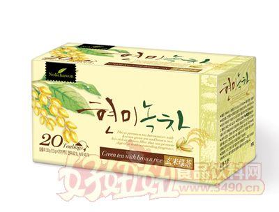 韩国绿茶园玄米绿茶30g