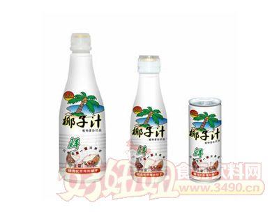 彩樵鲜榨椰子汁系列饮品