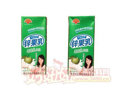 金初元锌果乳原味饮品250ml