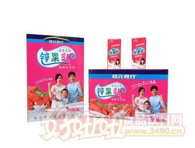 初元食疗锌果乳果酸乳草莓味饮品组合