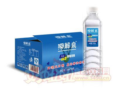 深解泉:海盐+柠檬果味饮料550ml×24瓶