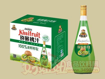 华宝100%新鲜榨取猕猴桃汁